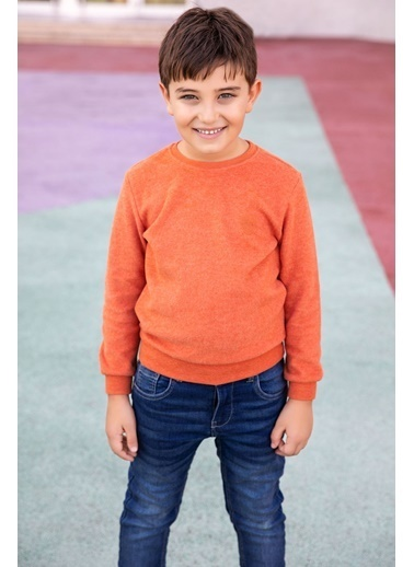 DeFacto Basic Sweatshirt Oranj